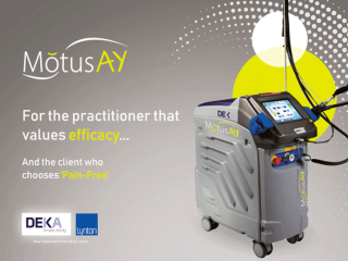 DEKA Motus AY Alexandrite and Nd:YAG Laser Machine Graphic