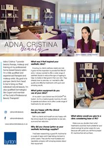 Adna Cristna Beauty 25 Years Profile