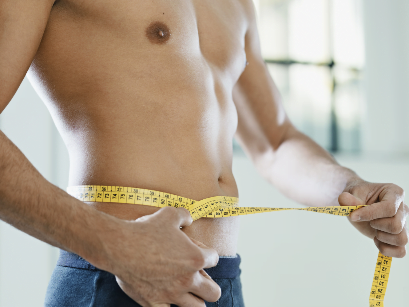 Male body contouring treatment