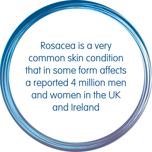 Rosacea is a very common skin condition that in some form affects a reported 4 million men and women in the UK and Ireland