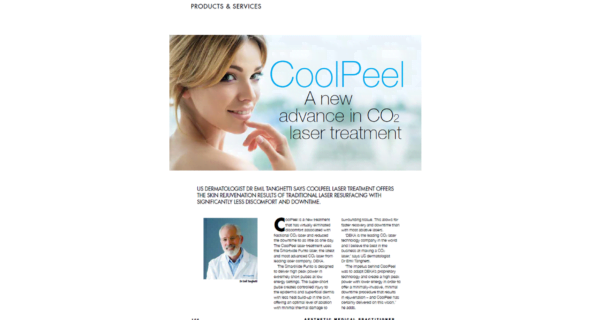 Dr Emil Tanghetti CoolPeel Interview